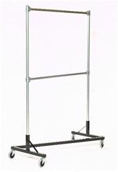 Z Rack Garment Rack Heavy Duty w/ Extra Hangrail